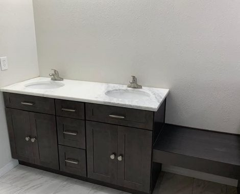 Wooden furniture bathroom - j and j enterprises florida orlando